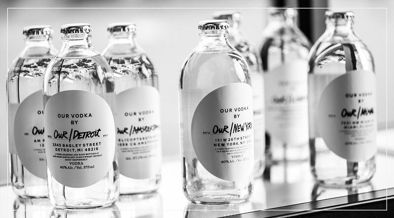 Weltweit erster globaler und lokaler Wodka